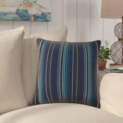 Cosey Outdoor Throw Pillow Color: Green/Blue