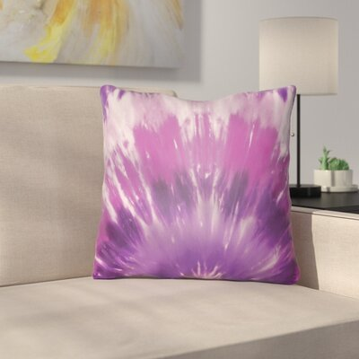 Calila Square Throw Pillow Size: 20 H x 20 W x 4 D, Color: Magenta