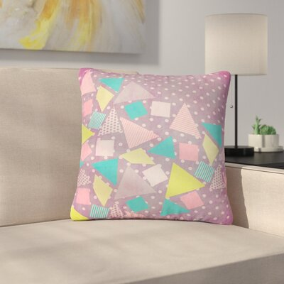 Louise Machado Candy Outdoor Throw Pillow Size: 18 H x 18 W x 5 D