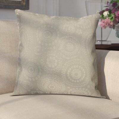 Sander Bohemian Woven Decorative Pillow Cover Color: Ivory