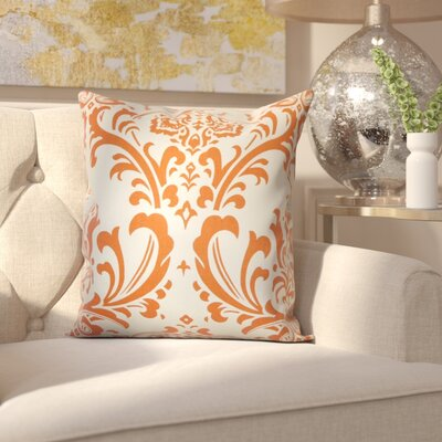 Burlington 100% Cotton Throw Pillow Color: Sweet Potato, Size: 20 x 20