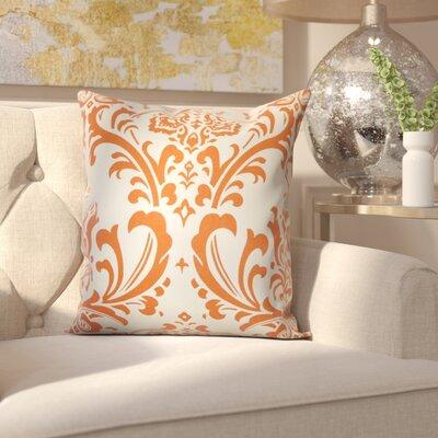 Burlington 100% Cotton Throw Pillow Color: Sweet Potato, Size: 18x18