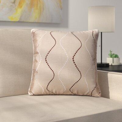 Bidwell Throw Pillow Color: Bronze