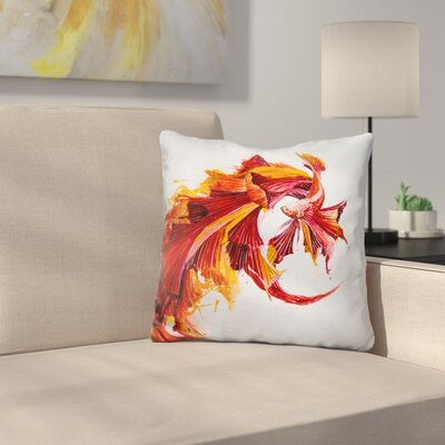 Ignite Print Throw Pillow