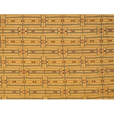 Turkish Kilim Hand-Knotted Wool Beige Area Rug