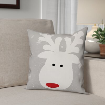 Cute Deer Throw Pillow Type: Pillow Cover