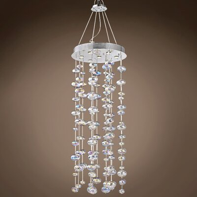 Selma 8-Light Cluster Pendant Bulb Type: LED