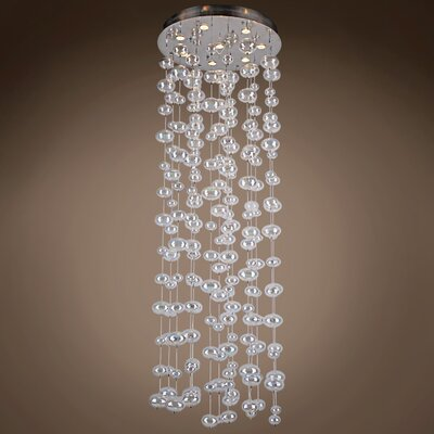 Selma 8-Light Cluster Pendant Bulb Type: Incandescent