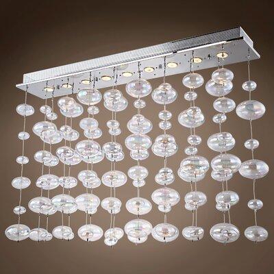 Selma 9-Light Kitchen Island Pendant Bulb Type: LED