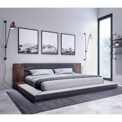 Defalco Platform Bed Size: King