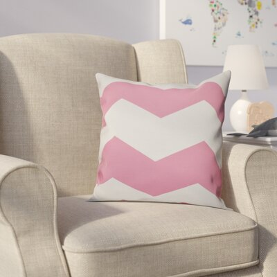 Milo Throw Pillow Size: 16 H x 16 W, Color: Petal