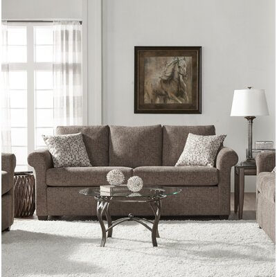 Easter Compton Sofa Upholstery: Light Brown