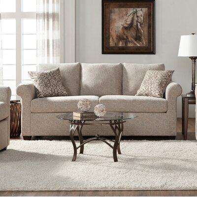 Easter Compton Sofa Upholstery: White