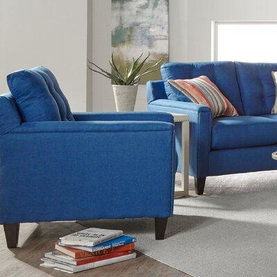 Longshore Armchair Upholstery: Denim
