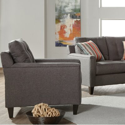 Longshore Armchair Upholstery: Gray