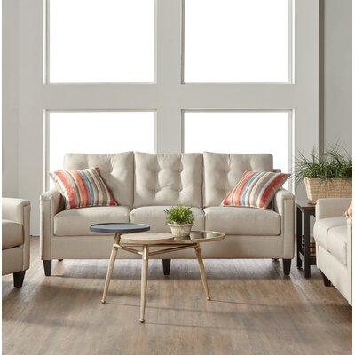 Longshore Sofa Upholstery: White