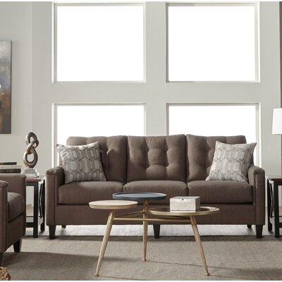 Longshore Sofa Upholstery: Brownstone