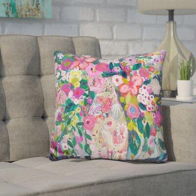 Hatchell Pale Vase Throw Pillow