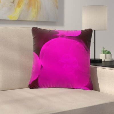 Juan Paolo Jellyfish Outdoor Throw Pillow Size: 18 H x 18 W x 5 D