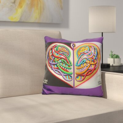 Heart Intelligence Throw Pillow