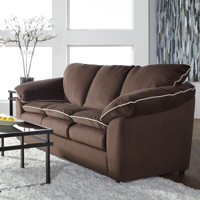 LeBretton Sofa Upholstery: Brown