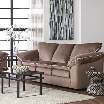 LeBretton Sofa Upholstery: Light Brown