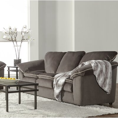 LeBretton Sofa Upholstery: Dark Gray
