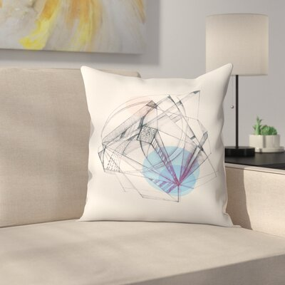 Structura Throw Pillow Size: 18 x 18