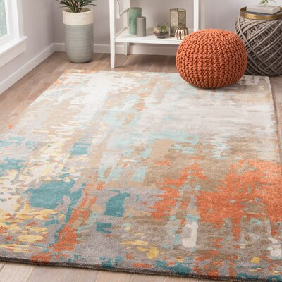 Fleishman Hand-Tufted Area Rug Rug Size: Rectangle 5 x 8