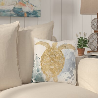 Cana Gilded Throw Pillow