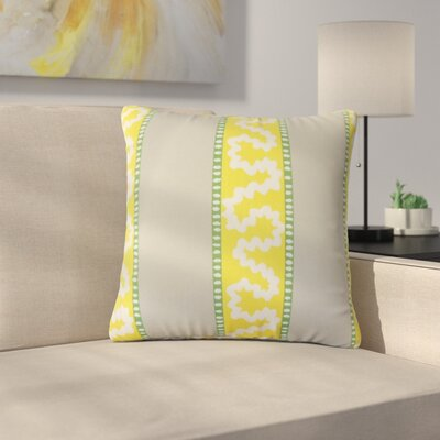 Sherrer Striped Down Filled 100% Cotton Throw Pillow Size: 22 x 22