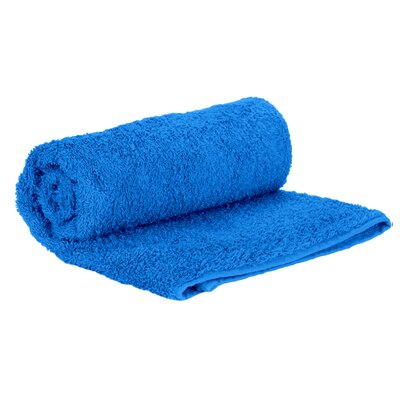 Premium Natural Soft Cotton Hand Towel Color: Aqua Blue