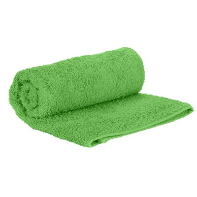 Premium Natural Soft Cotton Hand Towel Color: Lime Green