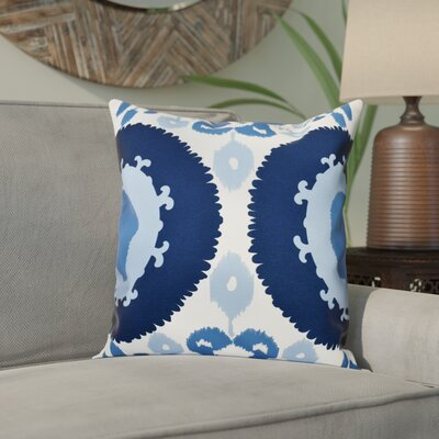 Meetinghouse Boho Outdoor Throw Pillow Size: 20 H x 20 W, Color: Navy Blue