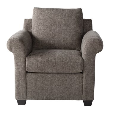 Easter Compton Armchair Upholstery: Light Brown