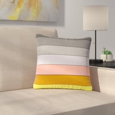 Ivan Joh Sandy Road Outdoor Throw Pillow Size: 16 H x 16 W x 5 D