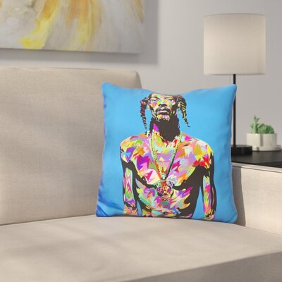 Snoop Throw Pillow
