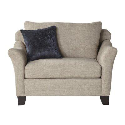 Metcalfe Settee Upholstery: Lilou Heather