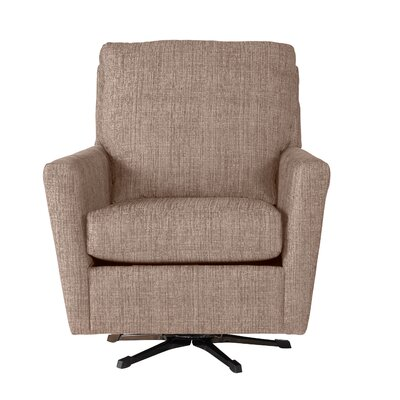 Wodome Swivel Armchair Upholstery: Folio Heather
