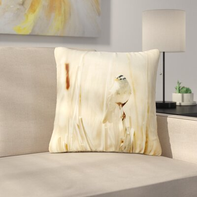Sylvia Coomes Bird in Ethereal Light Outdoor Throw Pillow Size: 16 H x 16 W x 5 D