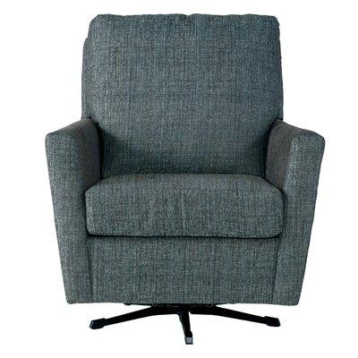 Wodome Swivel Armchair Upholstery: Folio Tea