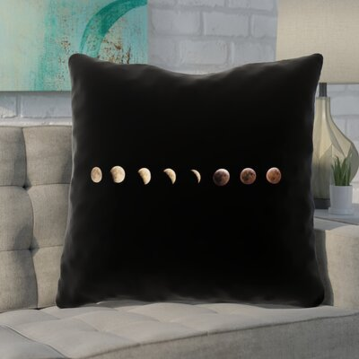Shepparton Moon Phases 100% Cotton Euro Pillow