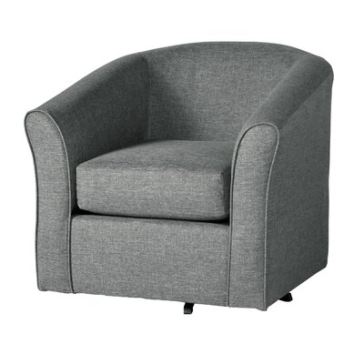 Padron Swivel Armchair Upholstery: Gray
