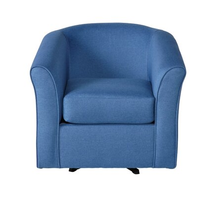 Padron Swivel Armchair Upholstery: Denim