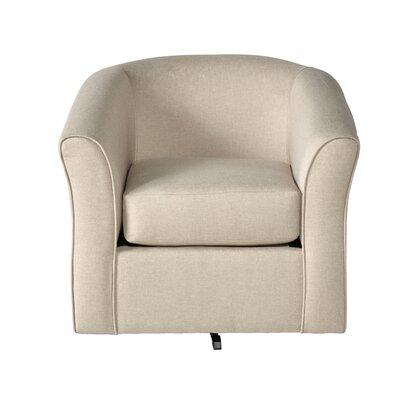Padron Swivel Armchair Upholstery: Khaki
