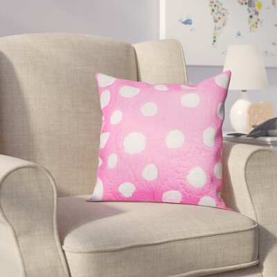 Iman Cotton Throw Pillow Color: Hot Pink