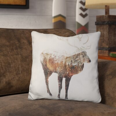 Okelly Deer Throw Pillow
