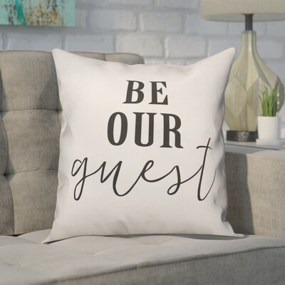 Crain Be Our Guest Throw Pillow