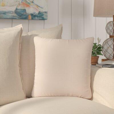 Dugan Soft Suede Throw Pillows Color: Light Pink