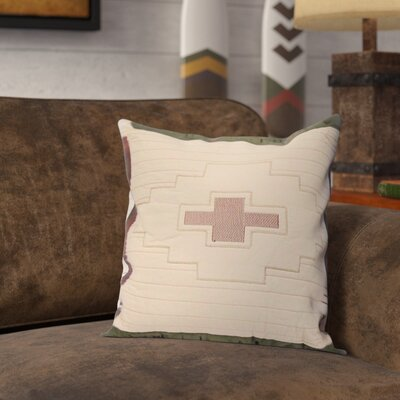 Willow Bend Lizard 100% Cotton Throw Pillow